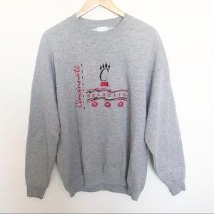 Vintage University of Cincinnati Ohio Sweatshirt L